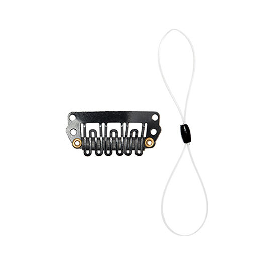 Cochlear Safety Line with Hair Clip (Short Double Loop)